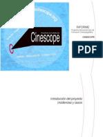 Informe Cinescope público