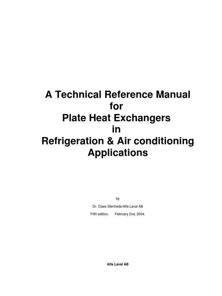 Manual Edition 5 English Gas Compressor Heat Exchanger Hvac Air Handler Economizer In Addition Electric Furnace Heating