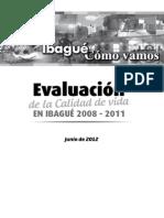 Ibague Como Vamos 2008-2011