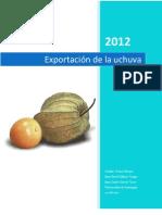 Entrega Exportacion de Uchuva