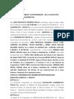Acta Asamblea de La Cooperativa Cosmo i r.l 2