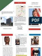 JFK Brochure