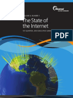 The State of the Internet 1st Quarter, 2013 Executive Summary