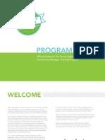 The Social Lights Community Manager Training Program   Summer 2013