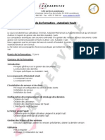 CAD Service - Autodesk Vault -  Luxembourg - Belgique - Lorraine