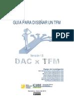 Guía para diseñar un TFM versió definitiva