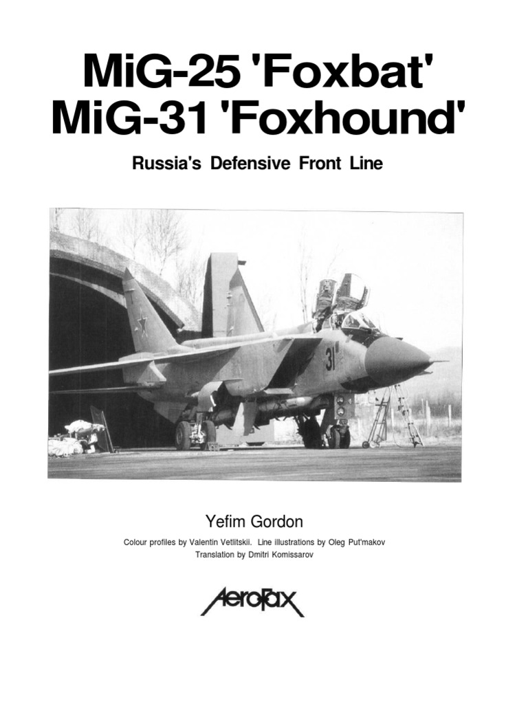 Mig 25 and mig 31pdf interceptor aircraft signals intelligence fandeluxe Image collections