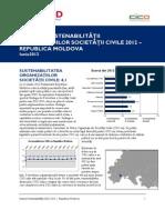 Indexul Sustenabilitatii 2012 Moldova