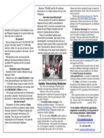 Medicare Portability Overseas, A One-Pager for NaFFAA, July 2013