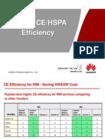 Huawei CE&HSPA Efficiency