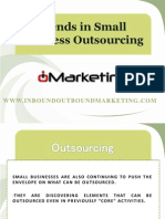 Trends in Small Business Outsourcing