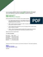 Sintaxis SQL