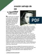 Andrade, Sobre Lispector