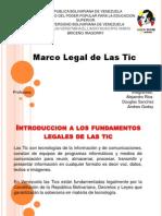 Fundamentos Legales de Las Tic
