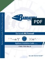 Barracuda f300 f301 Revb Applianceinstallguide Rev1