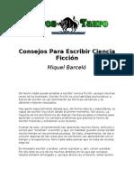Barcelo, Miquel - Consejos Para Escribir Ciencia Ficcion