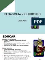 Pedagogia Curriculo Educacion UC