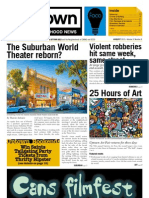 August 2013 Uptown Neighborhood News