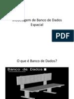 UFSM - ModelagemdeBancodeDadosEspacial