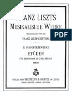Liszt, 12 Studi, Op 1