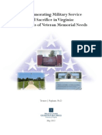 Commemorating Military Service and Sacrifice in Virginia