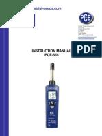 Manual Pce 555