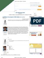 Guidlines to Prepare CMA Data - CAclubindia
