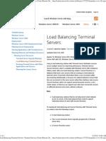 Load Balance TS
