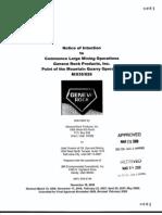 Geneva Rock Mining Permit