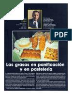 LAS GRASAS EN LA PANIFICACIÓN Y LA PASTELERÍA.doc
