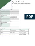 Corporations_ Registration Detail Northwest Trustee Services, Llc DBA Northwest Trustee Services of Washington, Llc