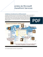 Vue d'ensemble de Microsoft Windows SharePoint Services (WSS)