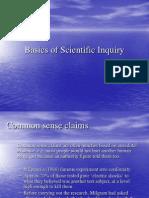 Presentation on Common Sense & Science