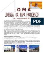 Roma Udienza Dal Papa 24 Settembre Grp Piumazzo
