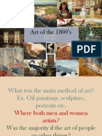 Art of the 1800s