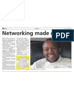 Big News NEWS MAY 2009 PAGE 13 Networking Made