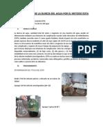 Determinacion de La Dureza Del Agua Por El Metodo Edta