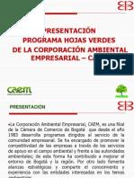 Caem -Programa Hojas Verdes - 2009