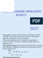 Mass Transfer Basics