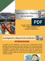 Investigacion y Reportes de Incidentes