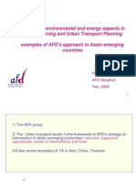 Integrating Environmental and Energy Aspects in Urban Planning and Urban Transport Planning