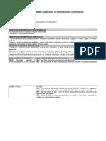 Palnificacion Unidad Organizacion de Informacion 4 Basico