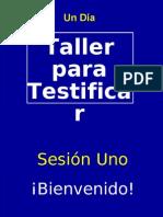 Taller Testificar