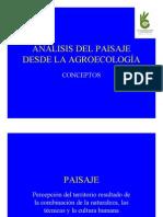 02 Egea, Análisis del paisaje desde la Agroecología