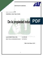 Tarea de Civil Exposicion de Propiedad Industrial