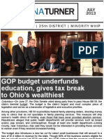 July 2013 E-newsletter