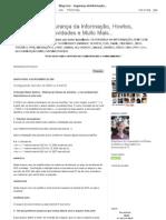 Blog Livre - Segurança da Informação, Howtos, Experiências, Novidades e Muito Mais..