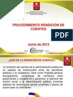 RENDICIÓN DE CUENTAS 1