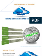Taking Education Into the Cloud