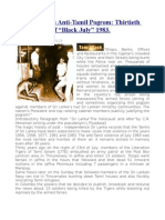 "Anatomy of an Anti-Tamil Pogrom  Thirtieth Anniversary of ""Black July"" 1983."